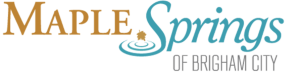 Maple Springs Living – Brigham City, Utah Logo