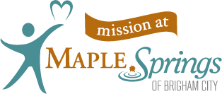 Maple Springs Living – Mission – Brigham City, Utah  Logo